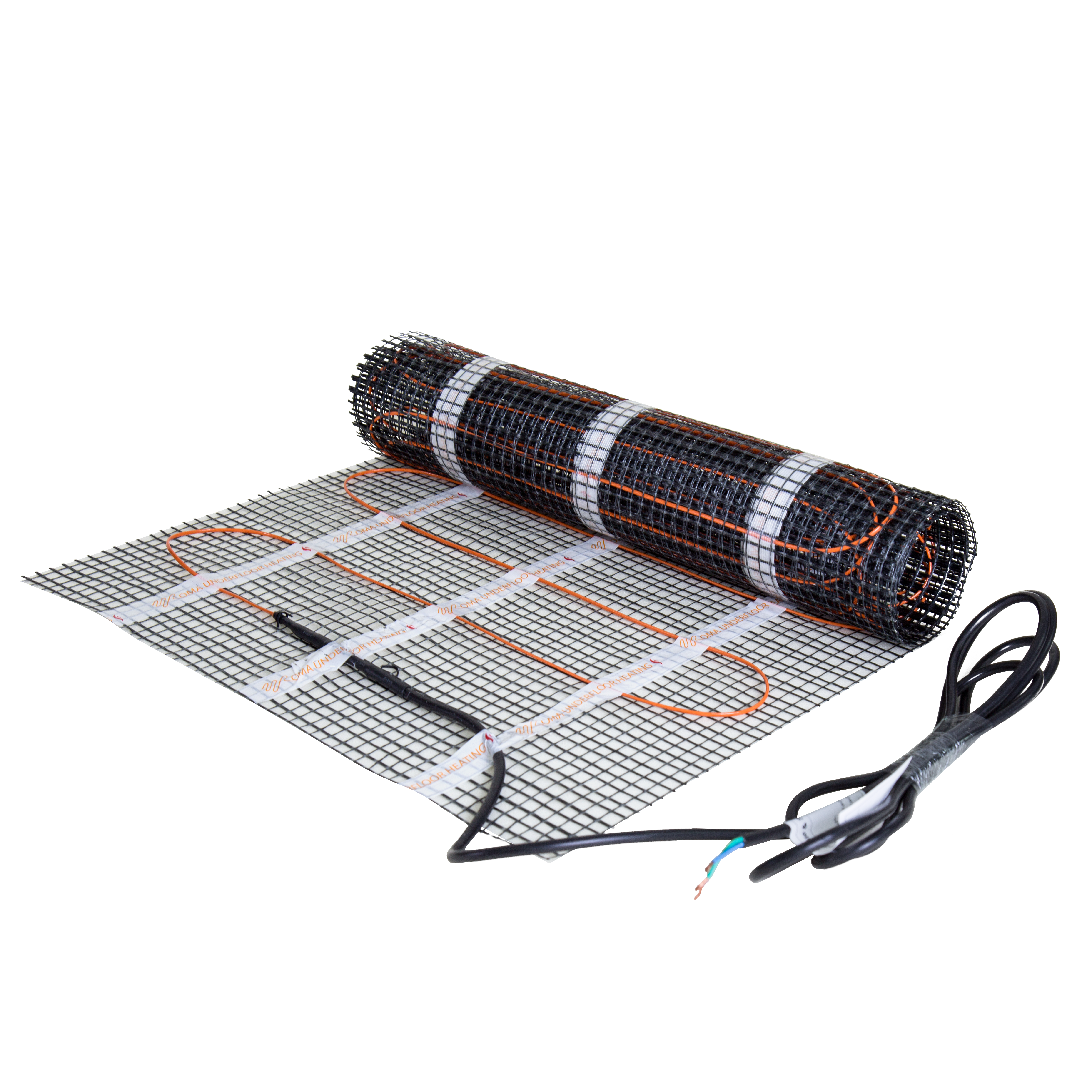Roma Heating Resources Electric Underfloor Thermostat Installation Guide By Discount Floor The Cable Kit Includes High Adhesion Fibre Tape A Probe Which Is Included With Your Option And Full Fitting Instructions