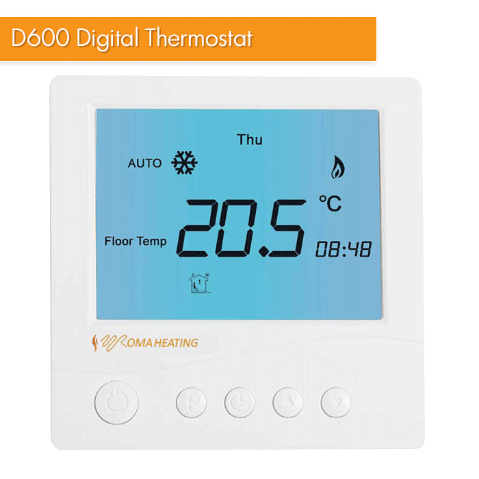 D600 Digital Thermostat