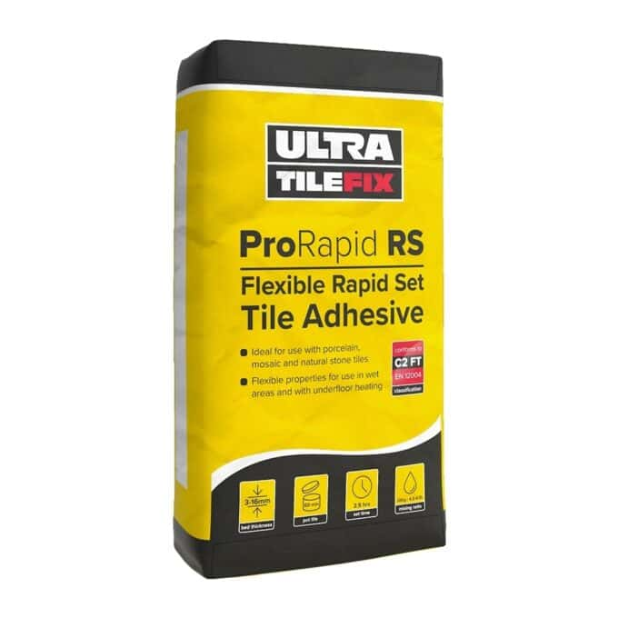 Flexible Rapid Set Adhesive