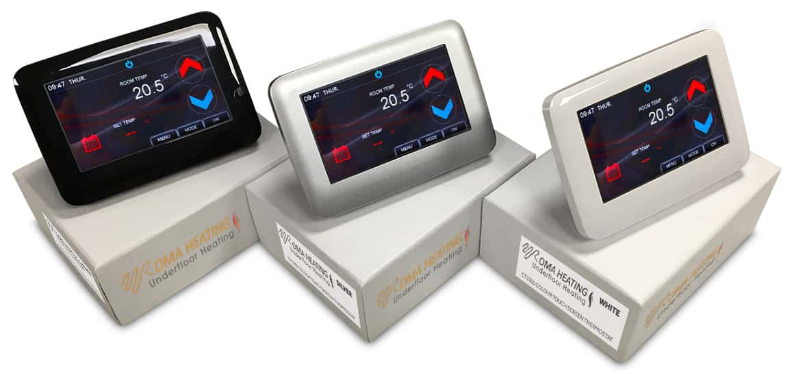 CT1000 Colour Touch Screen Thermostat