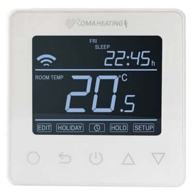 rw800 Wifi thermostat white