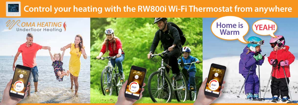 RW800i Wi-Fi Thermostat