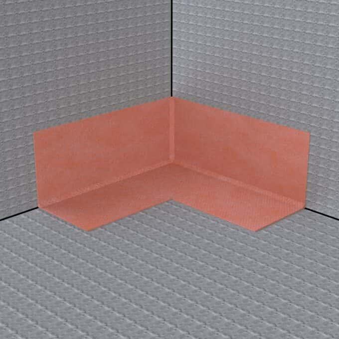 Wet Room Tanking Corner - Internal