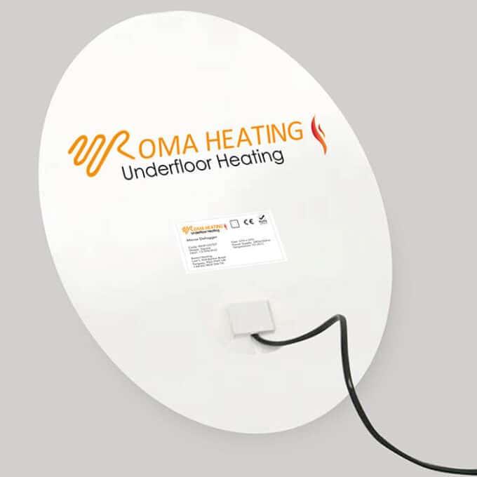 Roma Heating - Circle Mirror Demister