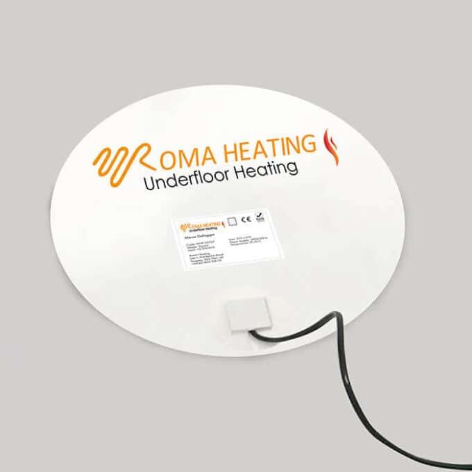 Roma Heating - Oval Mirror Demister